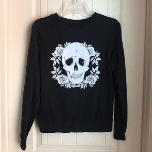 H&M Skull Sweatshirt